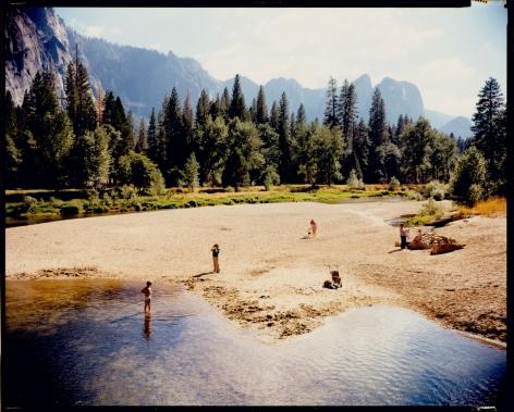 stephen shore, merced river, Yosemite, national park, California, august 13, 1979