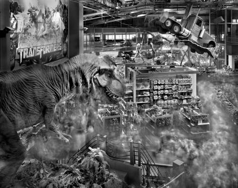 Matthew Pillsbury, Dinosaur, Toys R Us Times Square, 2011