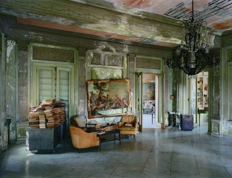 Robert Polidori, Señora Faxas Residence, Miramar, Havana, No. 1