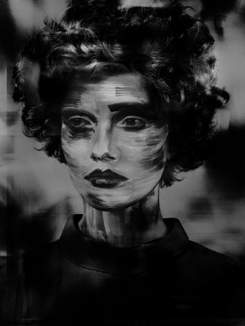Valérie Belin, Lady Stroke, 2017