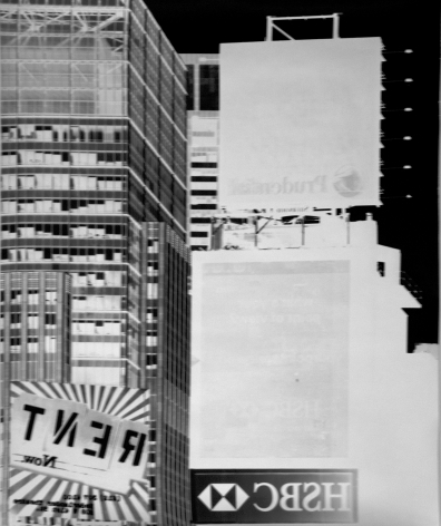 vera lutter, times square, new york: august 1