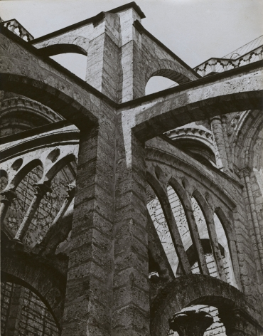 Charles Sheeler, Chartres - Flying Buttresses at the Crossing, 1929