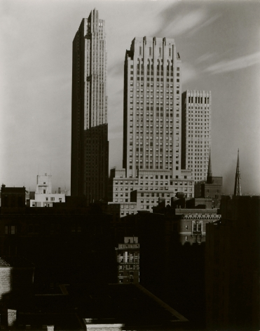 alfred Stieglitz new york, from the shelton