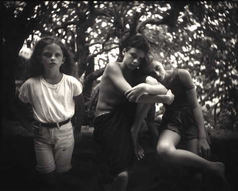 Sally Mann, Emmett, Jessie and Virginia​, 1994