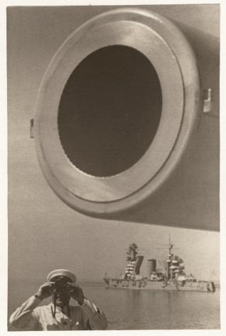 Yakov Khalip, On Guard (Large-Bore Cannon), Baltic Fleet, 1936