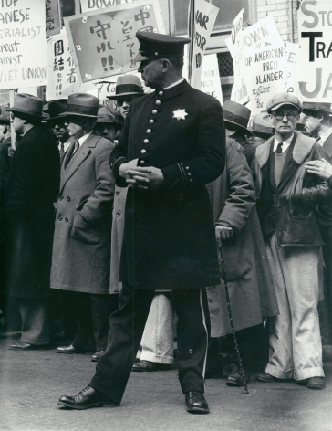Dorothea Lange, Street Demonstration, San Francisco