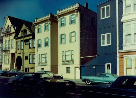 Stephen Shore Scott Street San Francisco California August