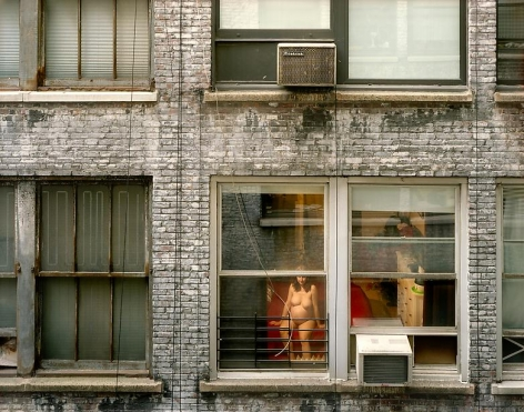 Gail Albert Halaban, Out My Window, Chelsea, West 28th Street, Expecting