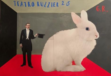 Paolo Ventura, Teatro Ruzzier (red GR), 2019