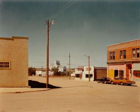 Stephen Shore, Main Street, Gull Lake, Saskatchewan, August 18, 1974