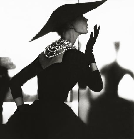 Lillian Bassman Blowing Kiss, Barbara Mullen, New York, Harper's Bazaar