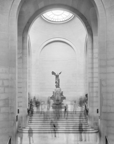 Winged Victory, the Louvre, 2008