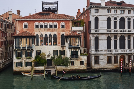 Out My Window, Moving, San Marco, Venice, October, 2017