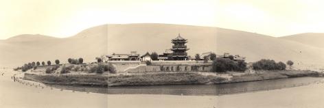 Lynn Davis, [China #18] Crescent Moon Spring, Dunhuang, China, 2001