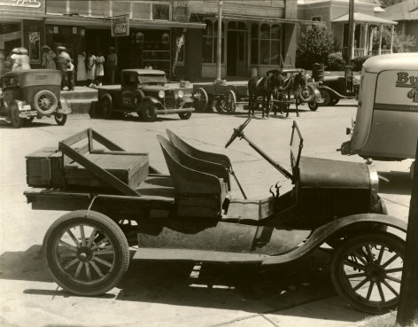 Walker Evans, Bucket Seat, Model T, Alabama