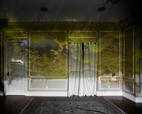 abelardo morell Camera Obscura View of Central Park Looking North Spring 2010