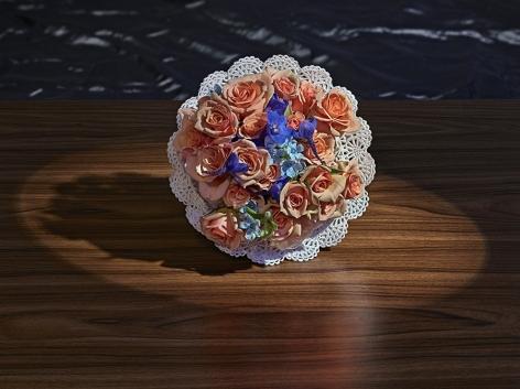 abelardo morell, Flowers for Lisa #76 - After Hitchcock's Vertigo