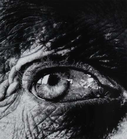 "sebastiaan bremer Eye #08 (After Bill Brandt's ""Henry Moore's Eye, 1972"")"