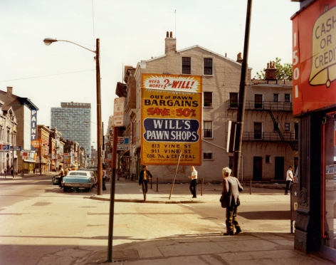 Stephen Shore, West 15th Street and Vine Street, Cincinnati, Ohio, May 15, 1974, 1974