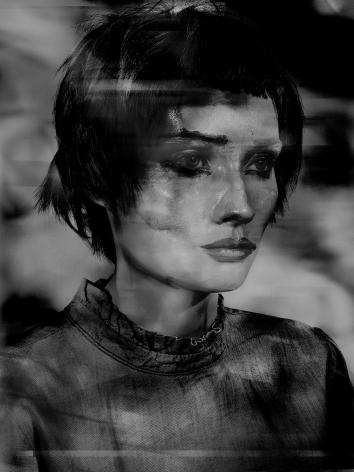 Valérie Belin, Lady Pastel, 2017