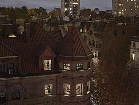 Chiclet Mansion, Park Slope, New York, 2017