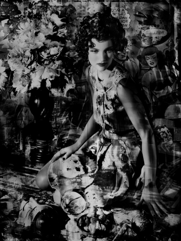 Valérie Belin, Swan Neck Vase