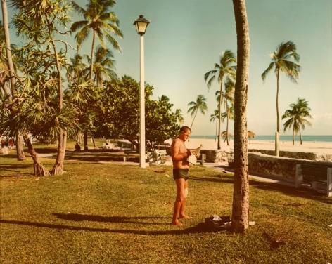 Stephen Shore, Miami Beach, Florida, November 13, 1977