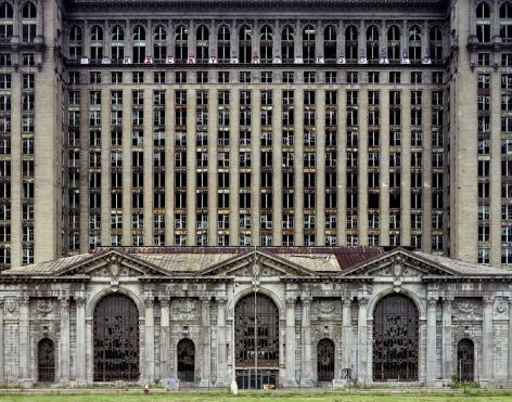 Yves Marchand Romain Meffre michigan central station