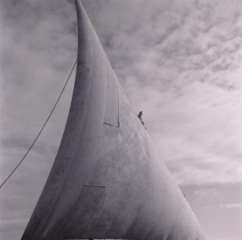 Lynn Davis, [Africa #28] Dhow Sail, Lamu, Kenya, 1997
