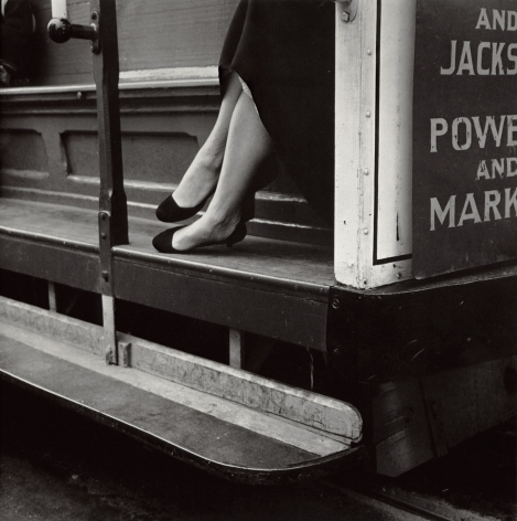 Dorothea Lange, Cable Car, San Francisco