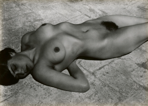 Edward Weston, Nude (Tina on the Azotea), 1923