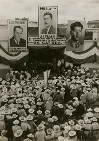 Manuel Álvarez Bravo, Untitled (Political Rally), c. 1946