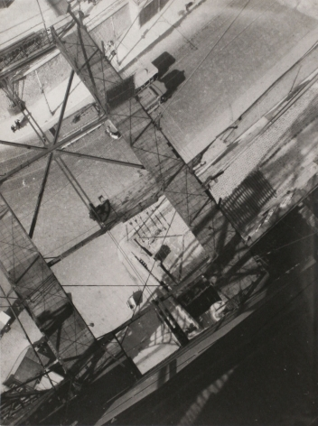 László Moholy-Nagy, View from the Pont Transbordeur (Looking Down from the Pont Transbordeur), c. 1929
