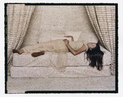 Lalla Essaydi, Les Femmes du Maroc: Harem Beauty #2, 2008