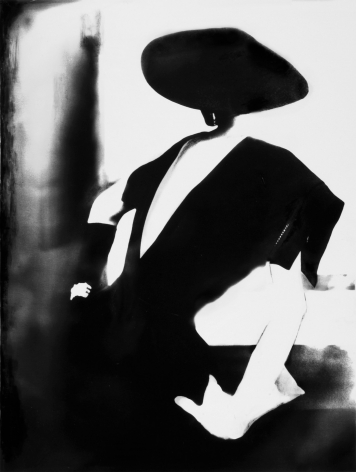 Lillian Bassman, Black-with One White Glove, Barbara Mullen, Dress by Christian Dior, New York, Harper's Bazaar, 1950