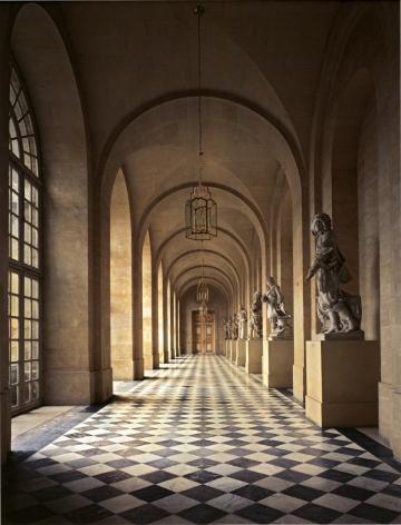 Robert Polidori, Galerie de Pierre, Chateau de Versailles, 1985