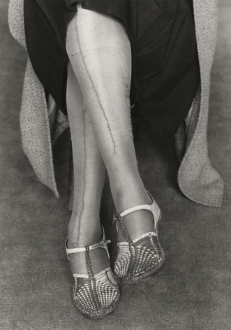 Dorothea Lange, Mended Stockings, San Francisco