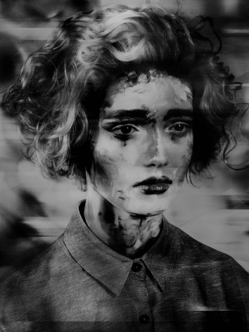 Valérie Belin, Painted Ladies, 2017