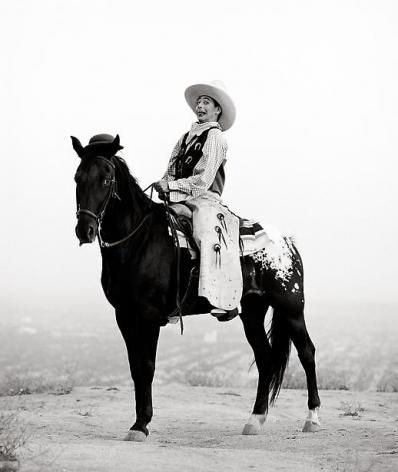 herb ritts pee wee on horse los angeles