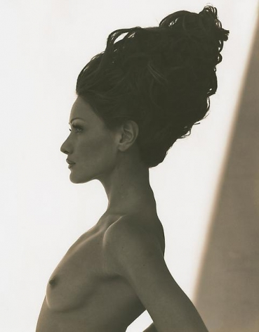 herb ritts carla bruni point dume