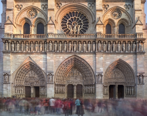 Matthew Pillsbury, Notre Dame de Paris, November, 2018
