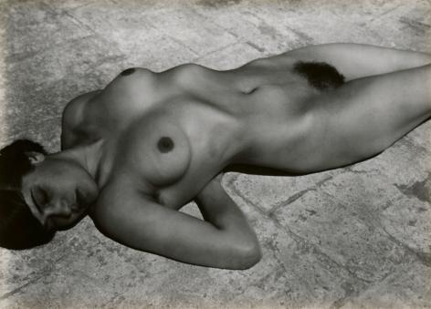 edward weston nude (tina on the azotea)