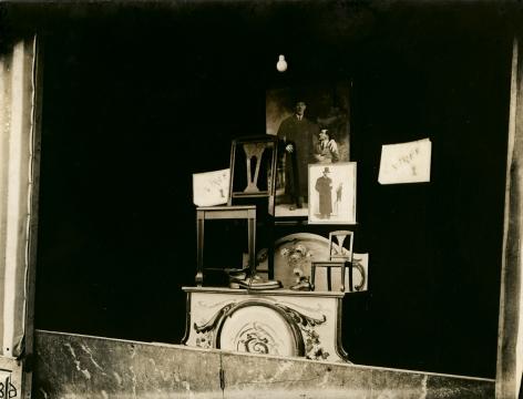 Eugène Atget, Fête du Trone, 1925