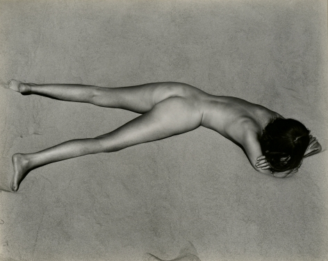 Edward Weston, Nude on Sand, 1936