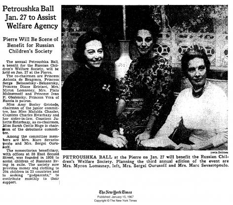 Petroushka Ball, 1967