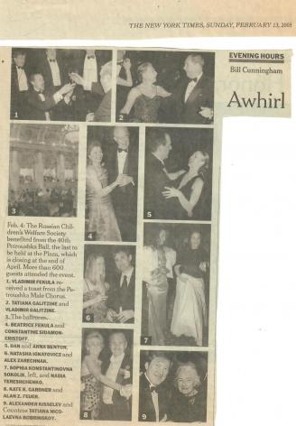 2005 Petroushka Ball