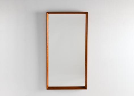 Danish Midcentury Wall Mirror