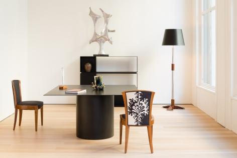 Jules Leleu Floor Lamp
