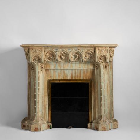 Nouveau fireplace