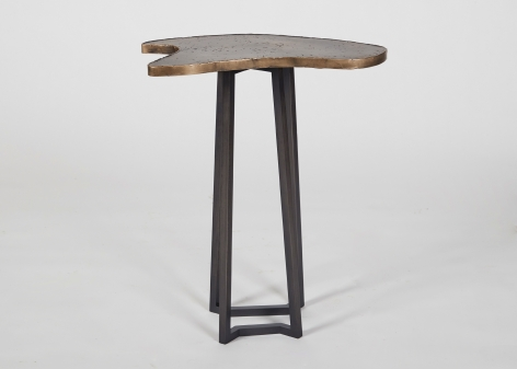 Fanning side tables